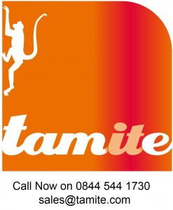 Tamite Logo large with contact