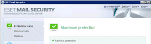 ESET Mail Security for MS Exchange Server