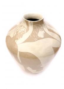 giant handmade pot