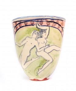 Handmade cup mug tall