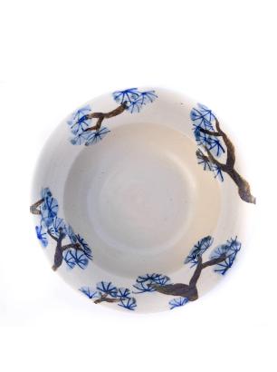 Deep plate blue handmade