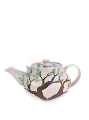 Large teapot leaf tree handmade