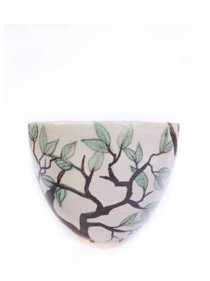 Leaf tree bowl side pot
