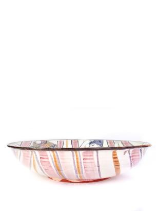 Pink Stripe bowl