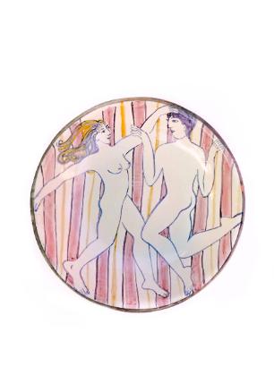 Pink Stripe bowl2