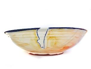 Round plate handmade